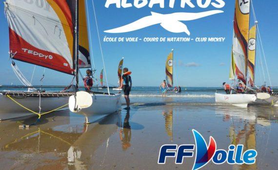 Le club l'Albatros vous accueille dans le cadre superbe de la baie de La Baule-Pornichet.